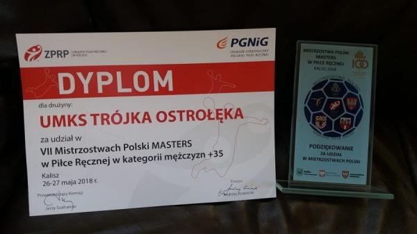 VII Mistrzostwa Polski Masters 2018 w Kaliszu za nami.